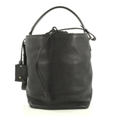 Burberry Susanna Hobo Leather Medium Black 4372734