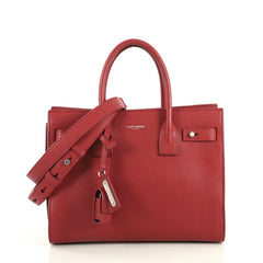 Saint Laurent Sac de Jour Souple Bag Leather Baby Red 4372760