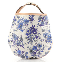 Gucci Wave Hobo Flora Canvas Blue 4372781
