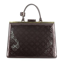 Louis Vuitton Deesse Handbag Monogram Vernis GM