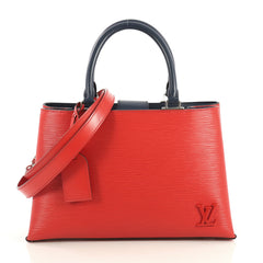 Louis Vuitton Kleber Handbag Epi Leather PM Red 4378817