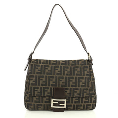 Fendi Mama Forever Bag Zucca Canvas Brown 4382810