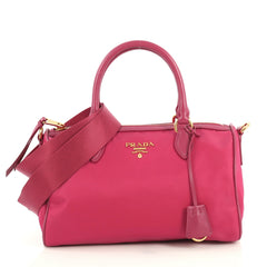 Prada Convertible Tote Tessuto Medium Pink 4383710