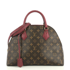 Louis Vuitton Alma BNB Handbag Monogram Canvas Brown 438481