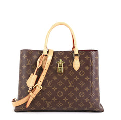 Louis Vuitton Flower Tote Monogram Canvas Brown 438611