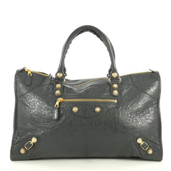 Work Giant Studs Bag Leather