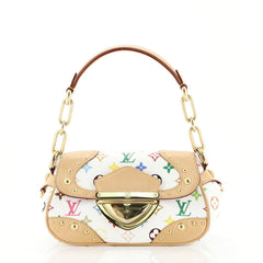 Louis Vuitton Marilyn Handbag Monogram Multicolor White 439291