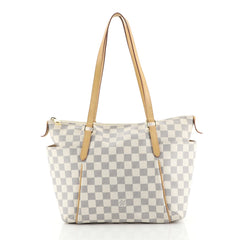 Louis Vuitton Totally Handbag Damier PM White 439322