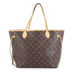Louis Vuitton Neverfull NM Tote Monogram Canvas MM Brown 439691