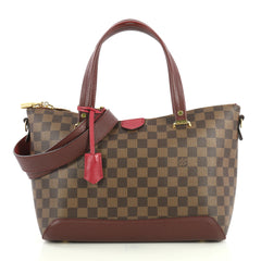 Louis Vuitton Hyde Park Handbag Damier Purple 4401320