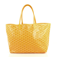 Goyard St. Louis Tote Coated Canvas PM Yellow 440139