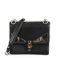 Fendi Monster Kan I Bag Leather Small