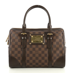 Louis Vuitton Berkeley Handbag Damier Brown 440261