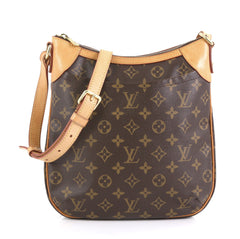 Louis Vuitton Odeon Handbag Monogram Canvas PM Brown 440401