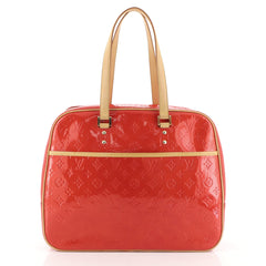 Louis Vuitton Sutton Handbag Monogram Vernis