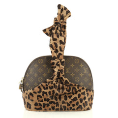 Louis Vuitton Limited Edition Alaia Centenaire Alma Bag Pony Hair and Monogram Canvas  Brown 4405922