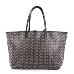 Goyard St. Louis Tote Coated Canvas PM Black 4405926