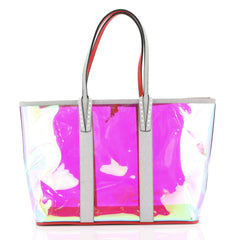 Christian Louboutin Cabata East West Tote PVC Large Multicolor 440593