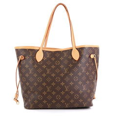 Louis Vuitton Neverfull NM Tote Monogram Canvas MM Brown 4405952