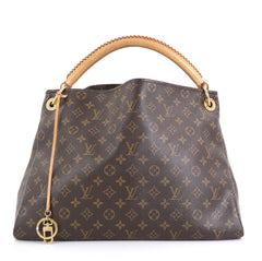 Louis Vuitton Artsy Handbag Monogram Canvas MM Brown 440751
