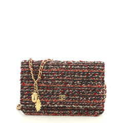 Chanel Wallet on Chain Tweed Red 4411243