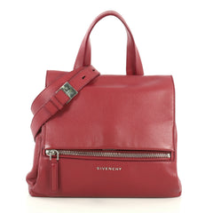 Givenchy Pandora Pure Satchel Leather Small Red 441432