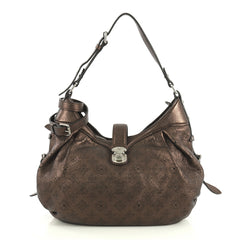 Louis Vuitton XS Crossbody Bag Mahina Leather Brown 441886
