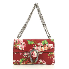 Gucci Dionysus Bag Blooms Print Leather Small Red 442228