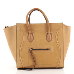 Celine Phantom Bag Smooth Leather Medium Brown 442591