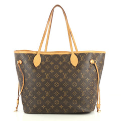Louis Vuitton Neverfull Tote Monogram Canvas MM Brown 442921