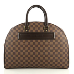 Louis Vuitton Nolita Handbag Damier 24 Heures Brown 4430419