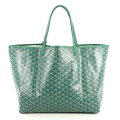 Goyard St. Louis Tote Coated Canvas GM Green 443281