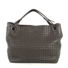 Bottega Veneta Bella Tote Intrecciato Nappa Large Brown 4438531