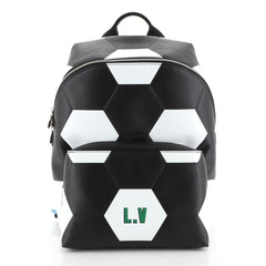 Louis Vuitton Apollo Backpack Limited Edition FIFA World Cup Epi Leather  White 443857