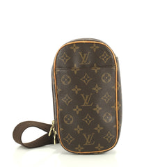 Louis Vuitton Pochette Gange Monogram Canvas Brown 4439412