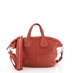 Givenchy Nightingale Crossbody Bag Leather Micro Red 4447150