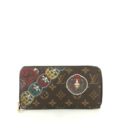 Louis Vuitton Zippy Wallet Limited Edition Kabuki Monogram Canvas  Brown 4448224
