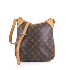 Louis Vuitton Odeon Handbag Monogram Canvas PM Brown 4448225