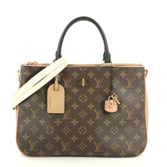 Louis Vuitton Millefeuille Handbag Monogram Canvas and Leather