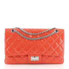 Chanel Reissue 2.55 Flap Bag Quilted Glazed Calfskin 227