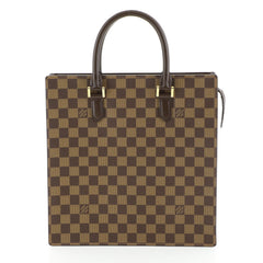 Louis Vuitton Venice Sac Plat Handbag Damier PM Brown 445191