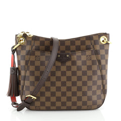 Louis Vuitton South Bank Besace Bag Damier Brown 4462501