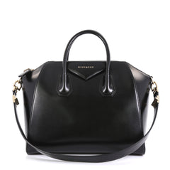 Givenchy Antigona Bag Glazed Leather Small Black 446461