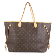 Louis Vuitton Neverfull Tote Monogram Canvas GM Brown 4466724