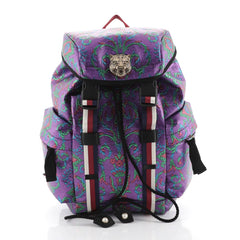 Gucci Techpack Backpack Brocade Purple 4466765