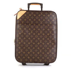 Louis Vuitton Pegase Luggage Monogram Canvas 45 Brown 447201