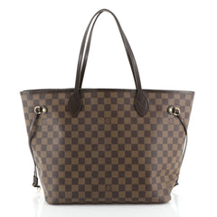 Louis Vuitton Neverfull Tote Damier MM Brown 447213
