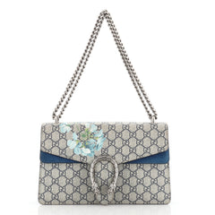 Gucci Dionysus Bag Blooms Print GG Coated Canvas Small