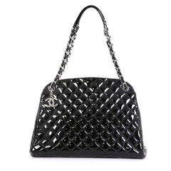 Just Mademoiselle Bag Quilted Patent Large