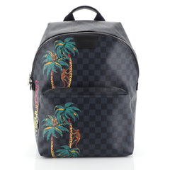 Louis Vuitton Apollo Backpack Limited Edition Damier Cobalt Jungle Bl...